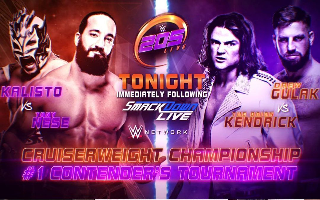 205 Clive's Purple Brand Review (02/26/19): Round 1, Night 1 of the Cruiserweight Championship #1 Contender Tournament (Winner faces Buddy Murphy at WrestleMania 35)