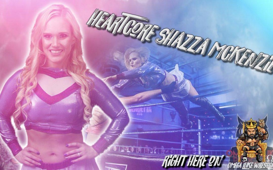 Omega Luke Wrestling – Shazza Mckenzie interview