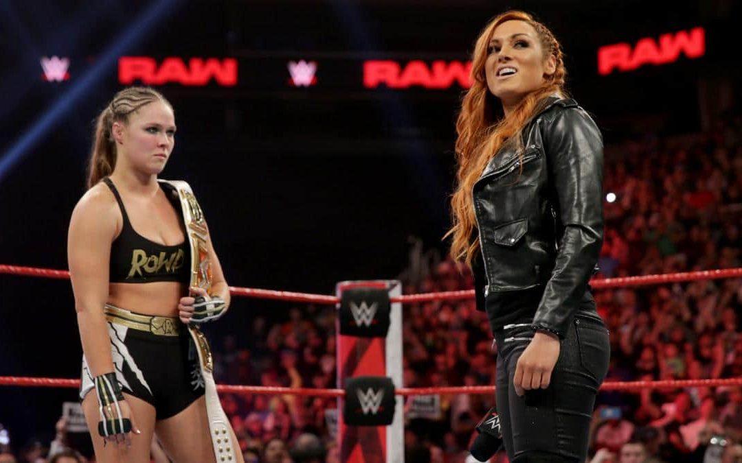 Becky/Ronda Twitter War