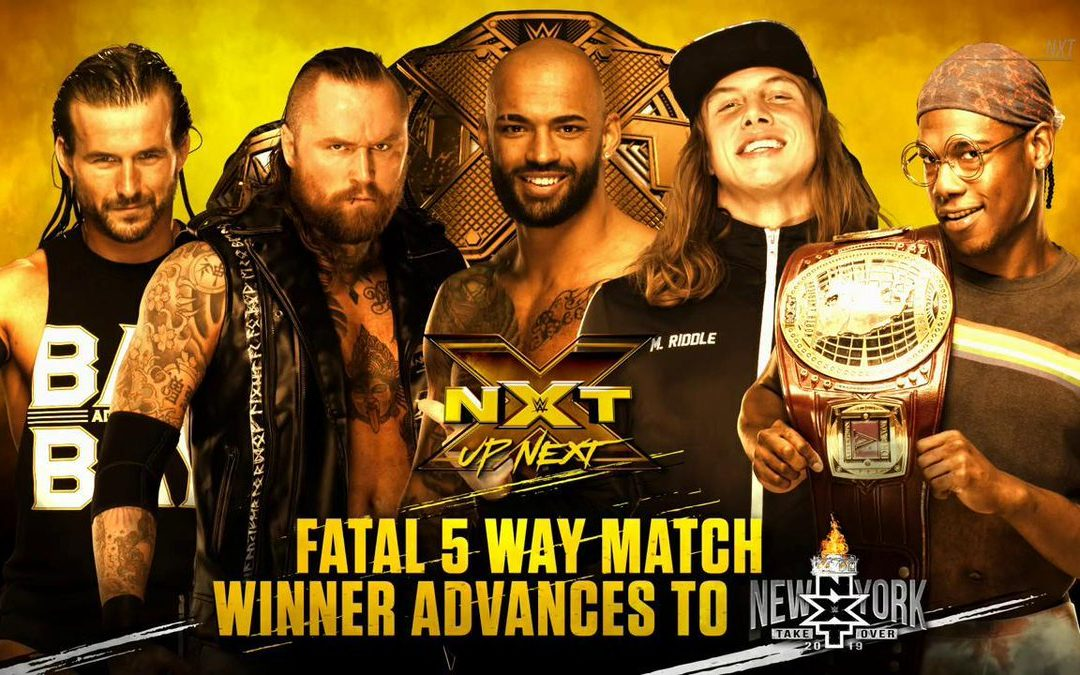 NXT: Then, Now, Forever – 3/22/19 – Fatal 5-Way for NXT Title Shot at Takeover: New York