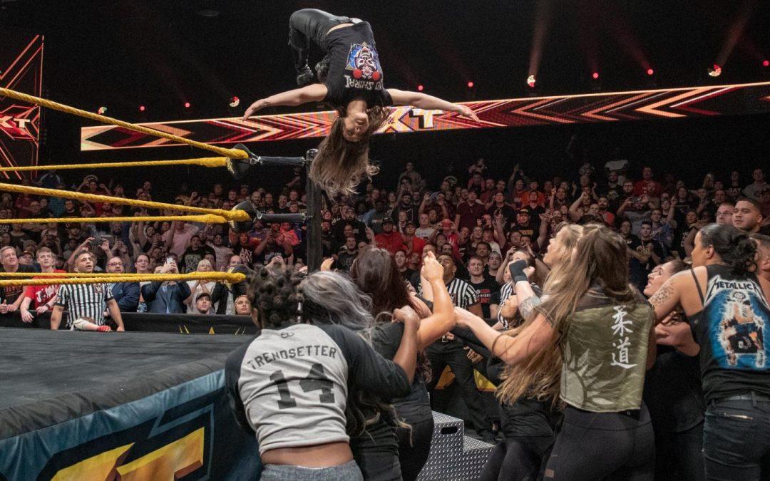 NXT: Then, Now, Forever – 4/4/19 – Kairi Sane Vs Bianca Belair