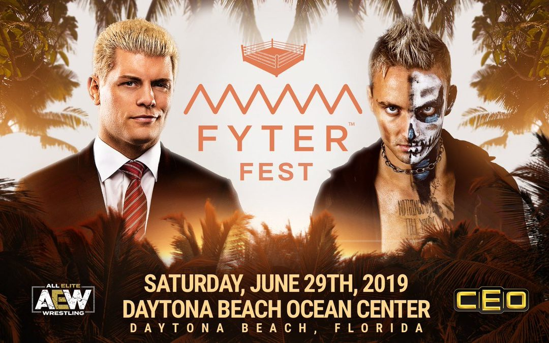 ATE Episode 19: Fyter Fest preview, Tony Khan's interview with Steve Austin, and recaps of BTE and Road to Fyter Fest.