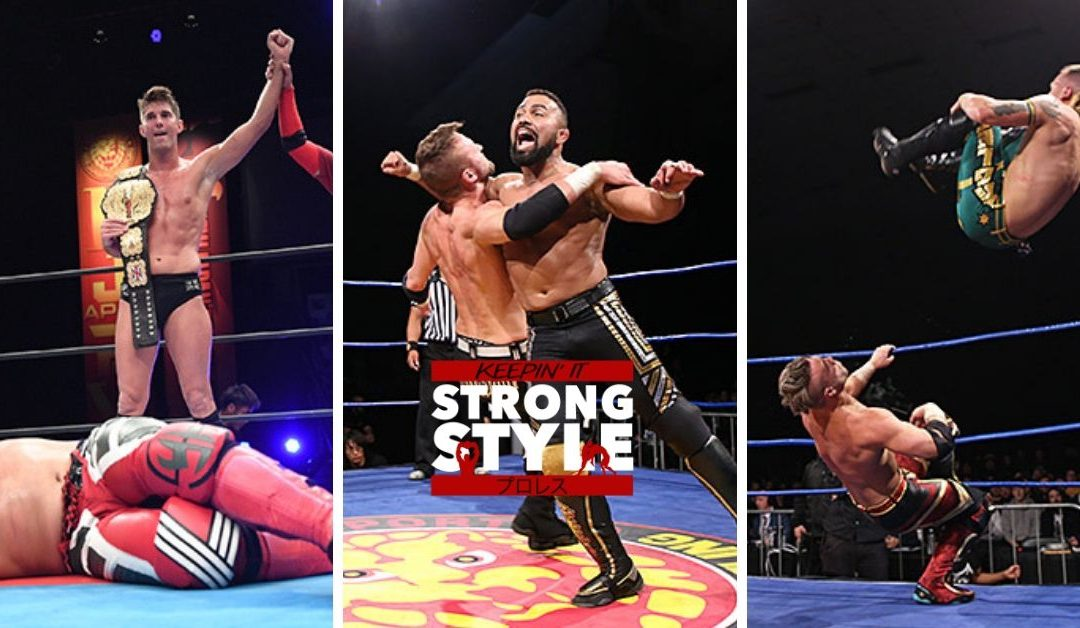 Keepin' It Strong Style – EP 83 – NJPW Southern Showdown Review and G1 Climax Dallas Preview