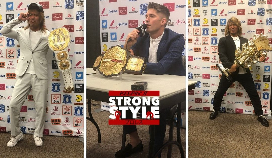 Keepin' It Strong Style – G1 Climax 29 Press Q and A (07-05-19)