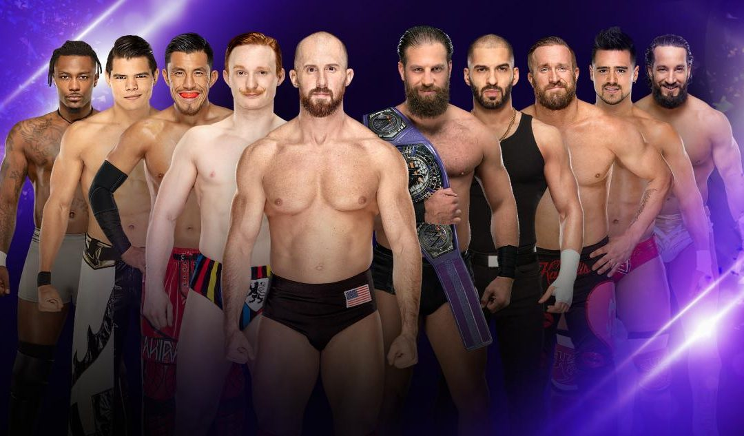 205 Clive's Purple Brand Review (08/20/19): Team Gulak vs Team Lorcan (Elimination Rules)