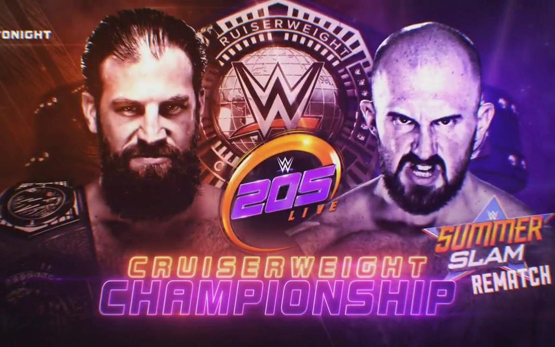 205 Clive's Purple Brand Review (08/13/19): WWE Summerslam Cruiserweight Championship Rematch (Gulak vs Lorcan)