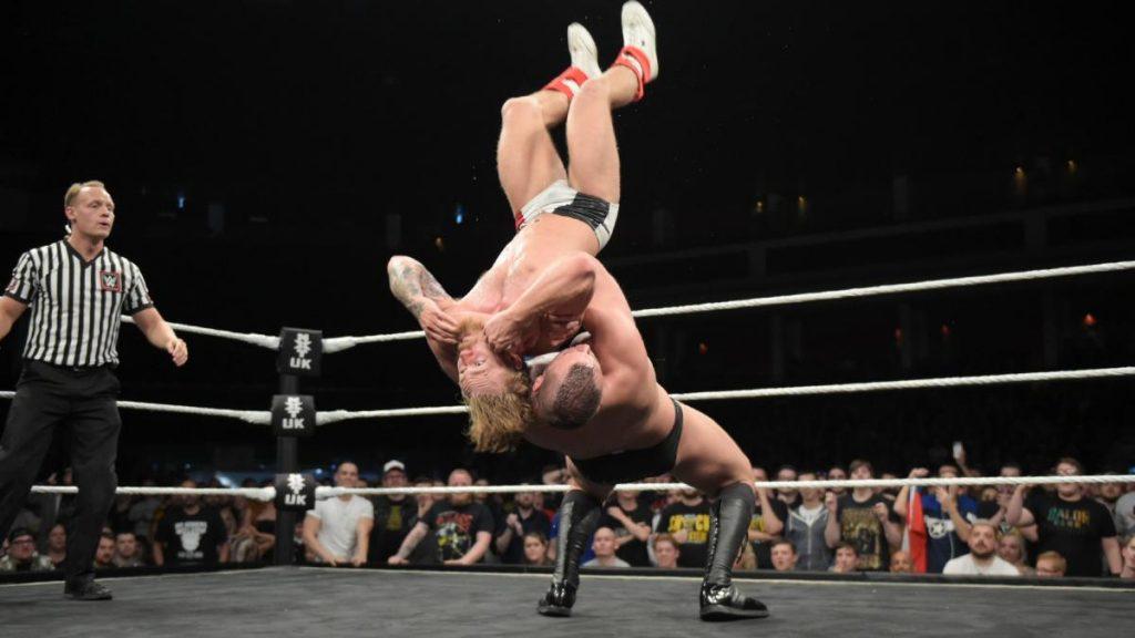 NXT UK Title Match: Champion WALTER defeated Tyler Bate
