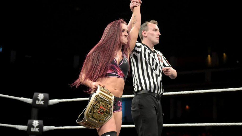 NXT UK Women's Title Match: Kay Lee Ray defeated Champion Toni Storm