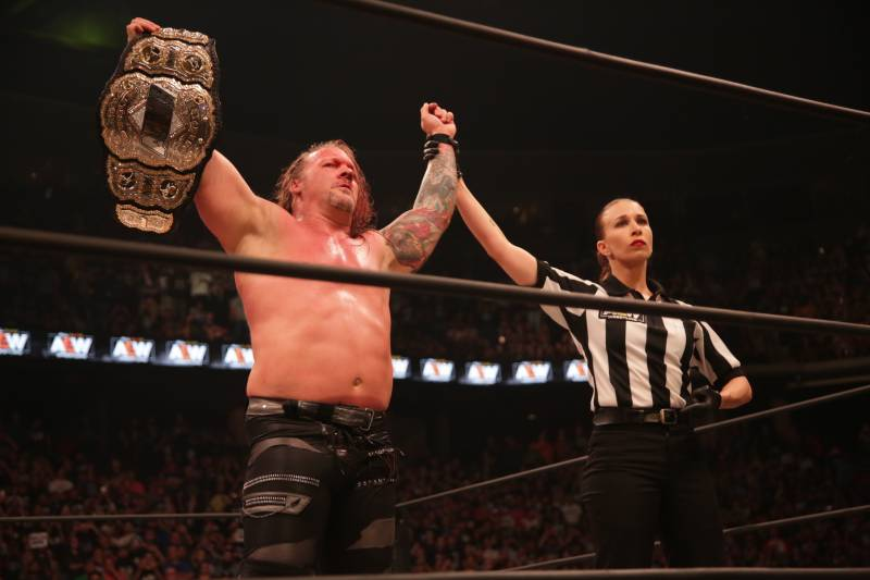 AEW All Out Results: Jericho is crowned first champ