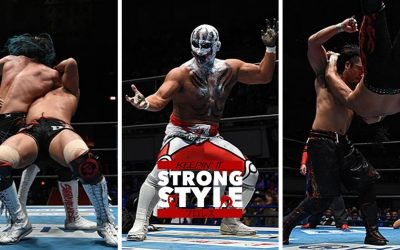 Keepin' It Strong Style – EP 95 – Destruction in Kobe Review