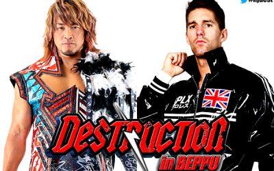 NJPW Destruction in Beppu Predictions