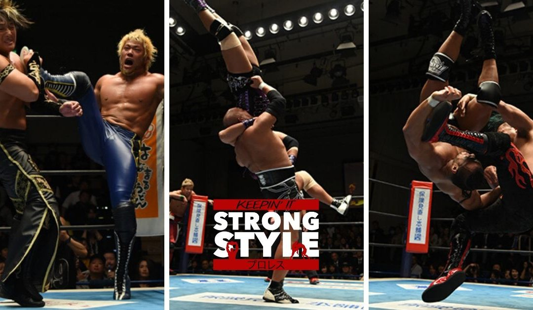 Keepin' It Strong Style – EP 105 – World Tag League Progress Report & Mailbag Questions