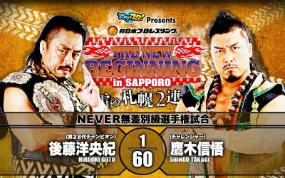 Keepin' It Strong Style – EP 113 – New Beginning in Tampa Review & New Beginning in Sapporo Predictions
