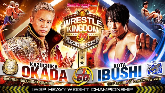 The Ricky & Clive Wrestling Show: NJPW Wrestle Kingdom 14 Review & 2020 Wishlist