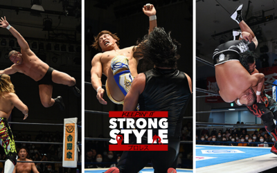 Keepin' It Strong Style – EP 117 – New Japan Road 2020 and Retirement Shows Review