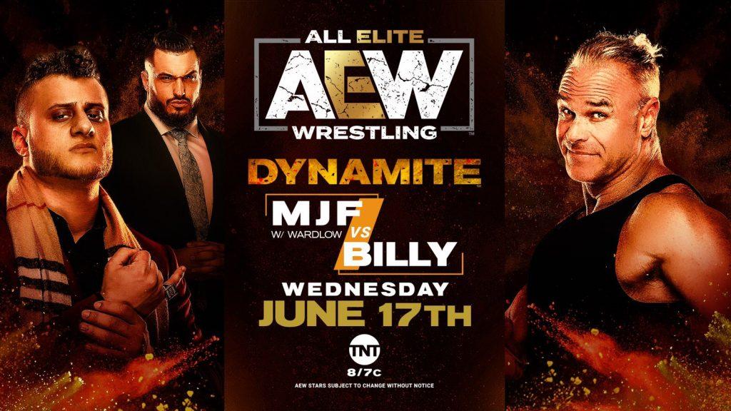 MJF vs. Billy Gunn