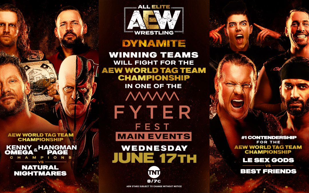 Donovan's Dynamite Preview for June 17th: Who's Going to Fyter Fest?