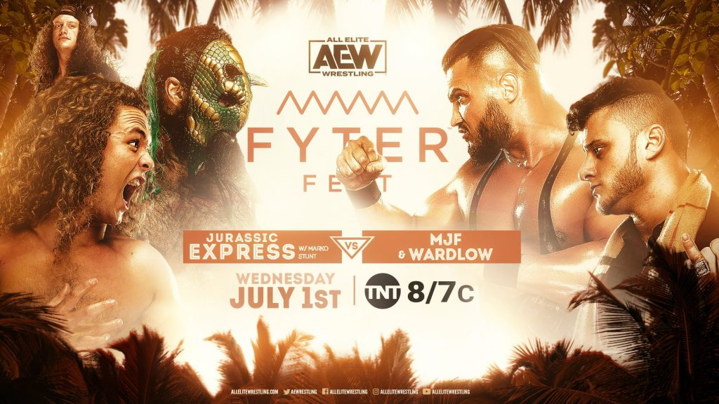 Jurassic Express vs. MJF & Wardlow