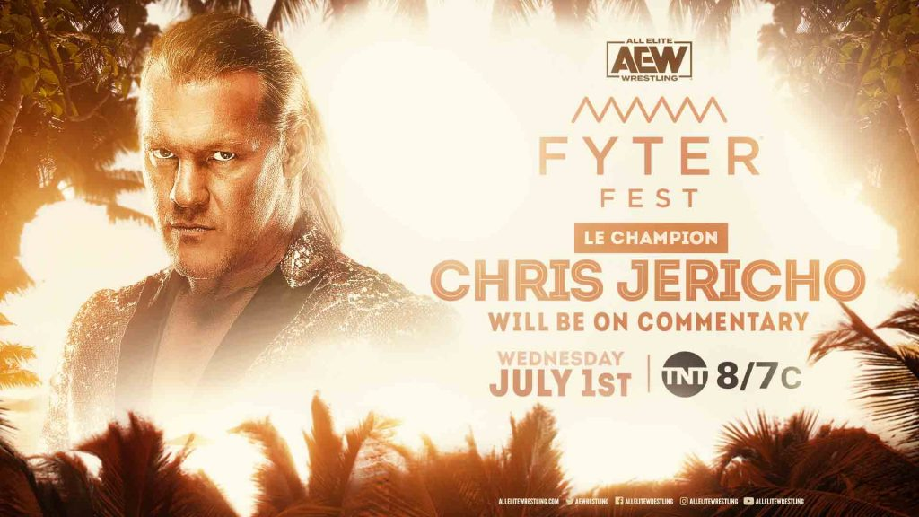 Chris Jericho Will Be On Commentary