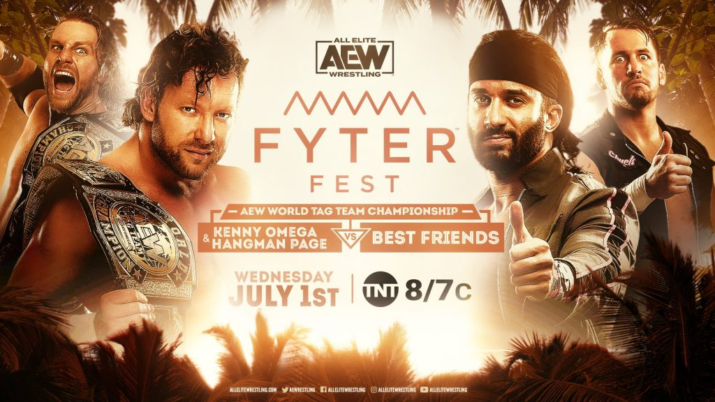 Fyter Fest 2020: AEW World Tag Team Championship Match Kenny Omega & Hangman Page vs. Best Friends