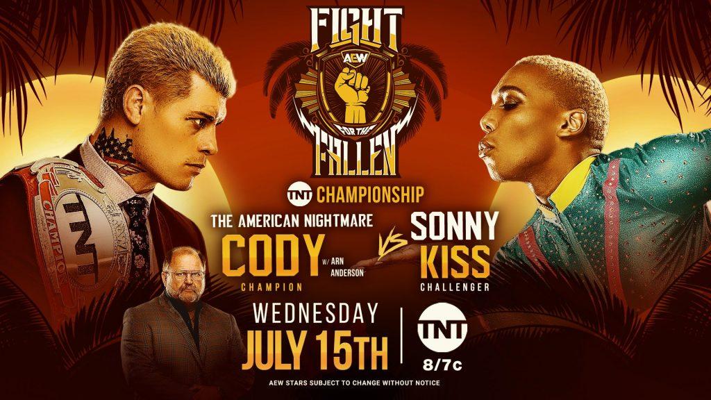 Fight for the Fallen: Cody vs. Sonny Kiss