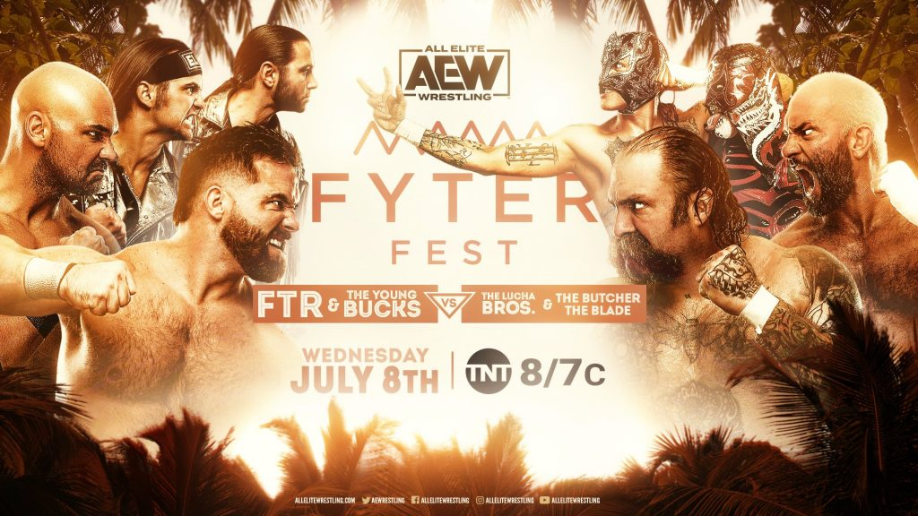 FTR & The Young Bucks vs. The Lucha Bros. & The Butcher & The Blade