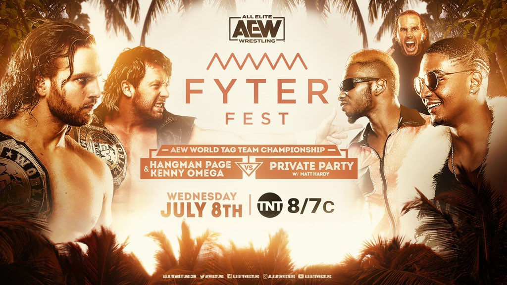 AEW World Tag Team Championship Match Private Party vs. Kenny Omega & Hangman Page