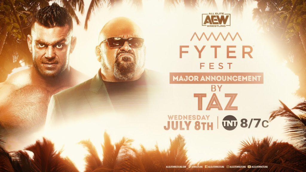 Major Announcement By Taz