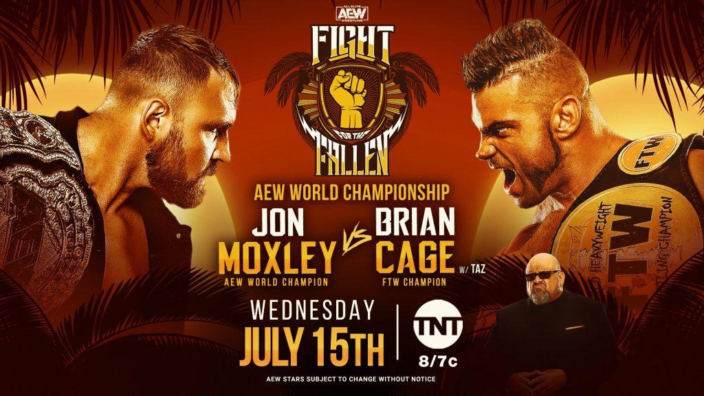 Fight for the Fallen: Jon Moxley vs. Brian Cage