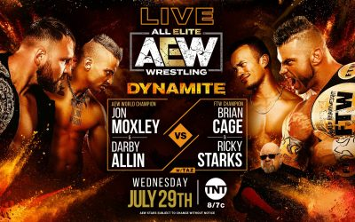 Donovan's Dynamite Preview for July 29th