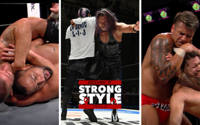 Keepin' It Strong Style – EP 138 – New Japan Road Review, Sengoku Lord Predictions, & Lion's Break Collision Review
