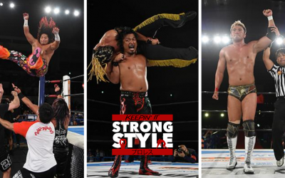 Keepin' It Strong Style – EP 139 – Sengoku Lord 2020 Review, Lion's Break Collision Finale, & Summer Struggle