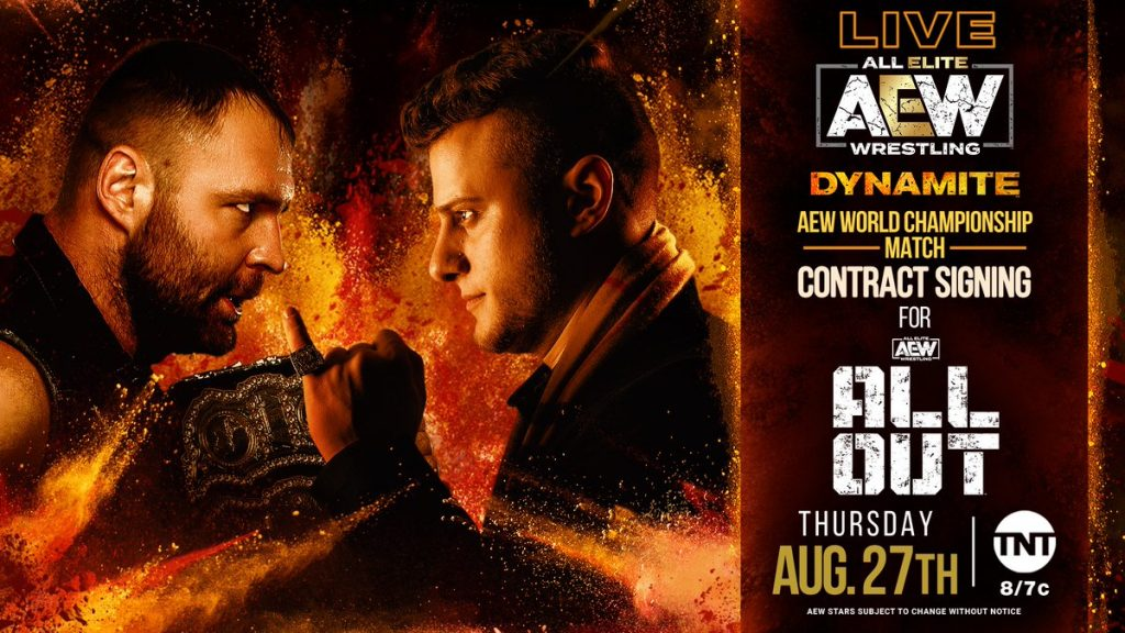 AEW World Championship Match Contract Signing