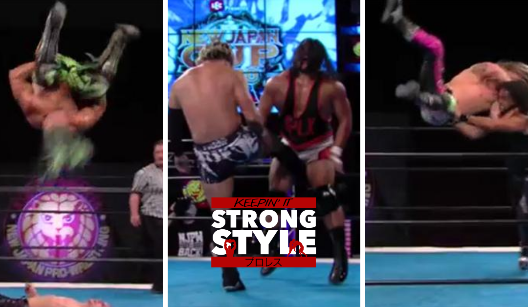 Keepin' It Strong Style – EP 142 – New Japan Cup USA Semi-Final Review & KOPW Preview