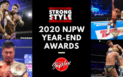 Keepin' It Strong Style – EP 160 – 2020 NJPW Year-End Award Winners