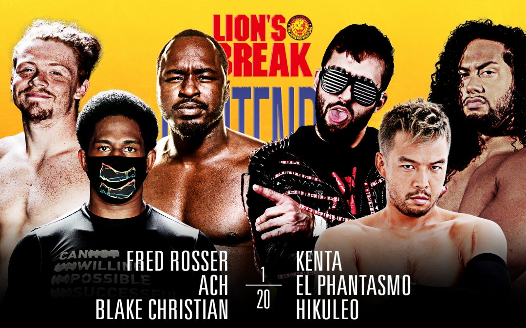 Road to Lion's Break Contender Night Two Strong Preview