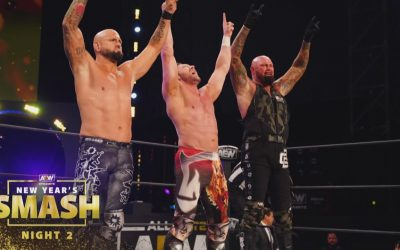 All Things Elite Episode 91: New Year's Smash Night 2 review and the BTE Recap is BACK!!!