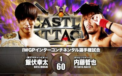 NJPW Castle Attack Night 2 Preview
