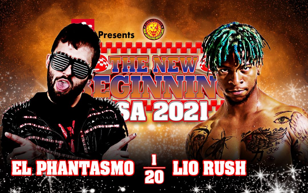 NJPW New Beginning In USA 2021 Night One Preview