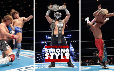 Keepin' It Strong Style – EP 170 – NJPW Castle Attack Review & New Japan Cup 2021 Preview