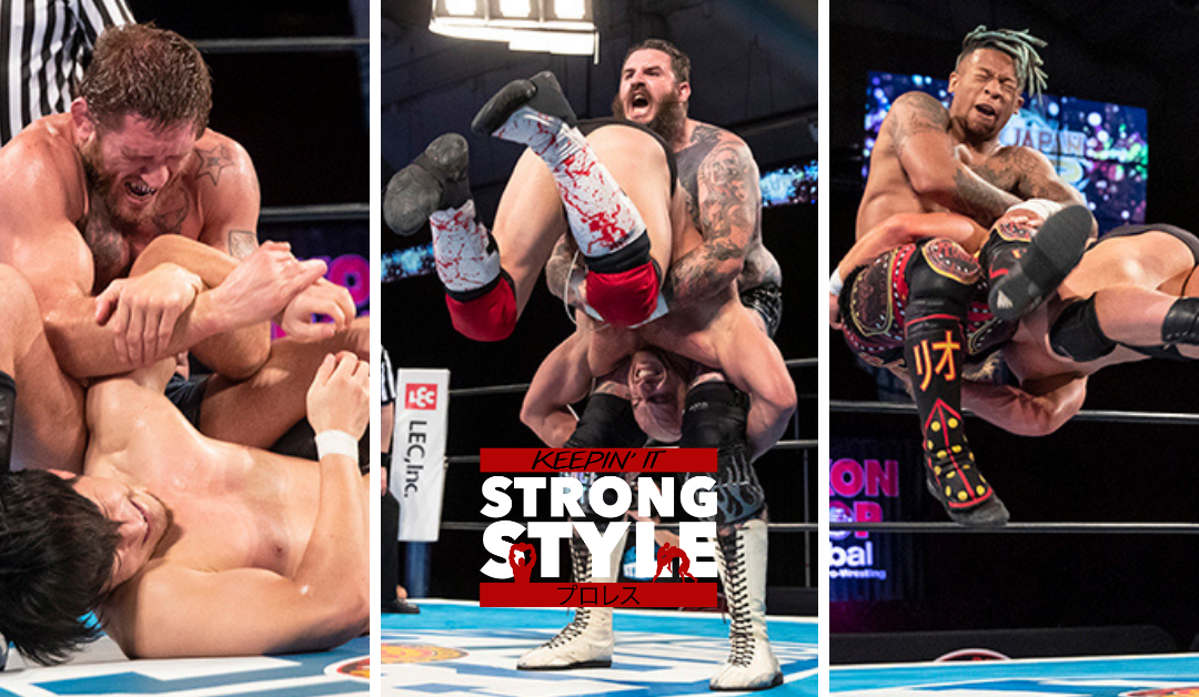 Keepin' It Strong Style – EP 176 – New Japan USA 2021 First Round Review