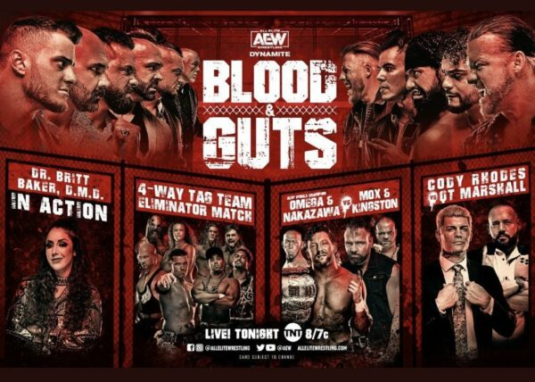 All Things Elite Episode 104: Blood and Guts Review. AEW #1 in the TV ratings.