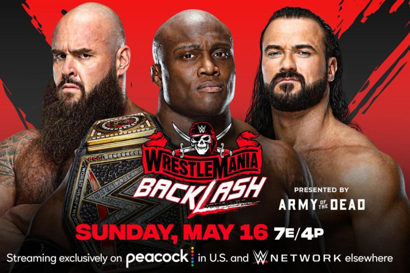 The Ricky & Clive Wrestling Show: Wrestlemania Backlash Preview