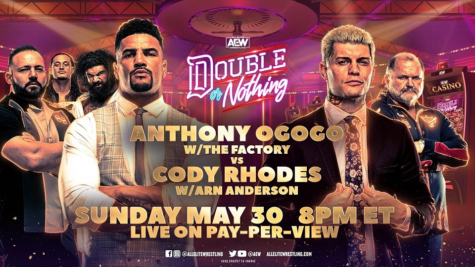 All Things Elite Episode 105: Countdown to Double or Nothing weekend and Cody's speech.