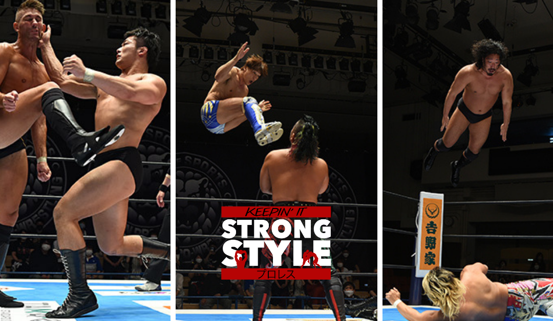 Keepin' It Strong Style – EP 185 – Kizuna Road 2021 Night 1 & 2 Review