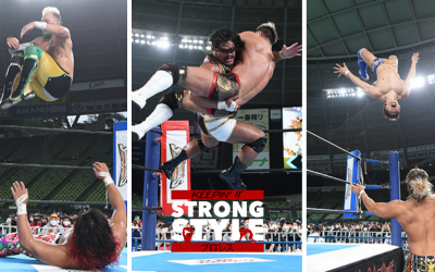 Keepin' It Strong Style – EP 197 – Wrestle Grand Slam in MetLife Dome Review